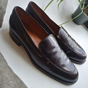 Tod's Brown Flat Loafers